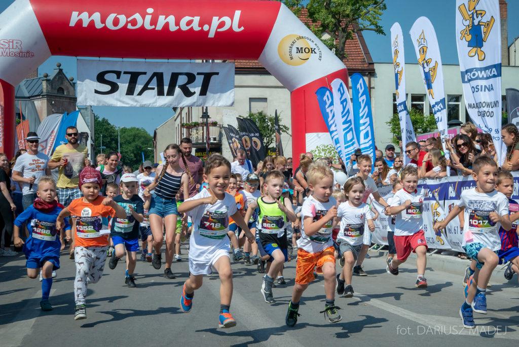 Trasy biegów dziecięcych i młodzieżowych
