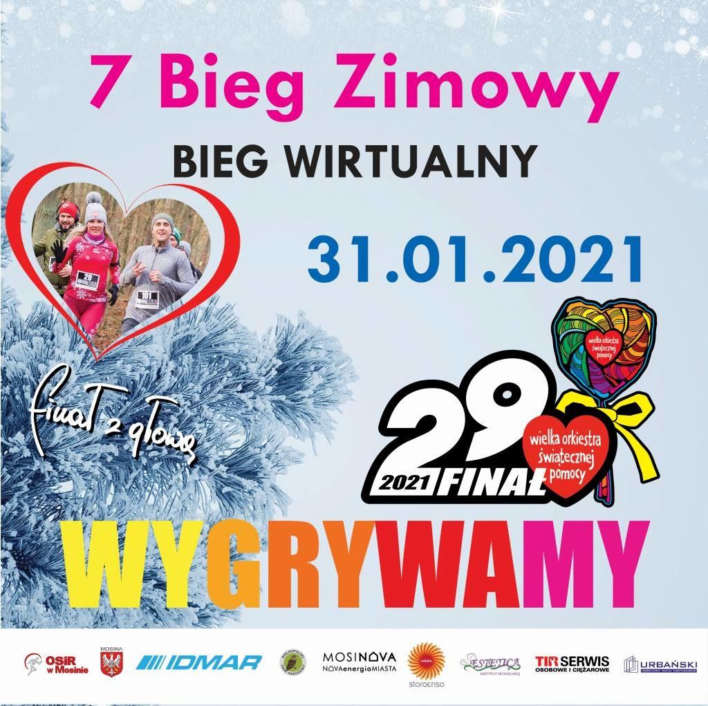 Bieg Wirtualny - 7 Bieg Zimowy - nowe zasady!